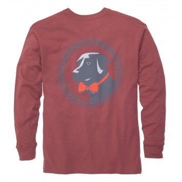 Original Tee: Rust Red Long Sleeve